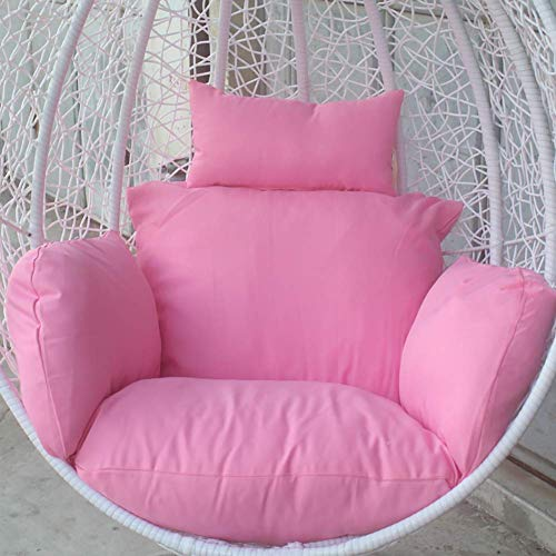 SONGYU Cuscini per sedili a Nido d'Ape per mobili, Cuscino per Sedia in Vimini a Dondolo Morbido e Rimovibile Extra Confortevole Cuscino per Culla per Cesto Appeso Blu Navy